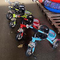Трехколесный велосипед для самых маленьких 010