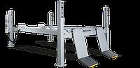 Подъемник четырехстоечный с гладким платформой г/п 6,5 тонны, длина трапа 5,100 мм ROTARY (Германия)