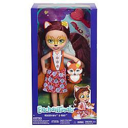Кукла Enchantimals с любимой зверюшкой большая в ассортименте FRH51