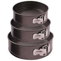 Набор из 3-х форм для выпечки раскладных SF-002SET, 20,22,24 см