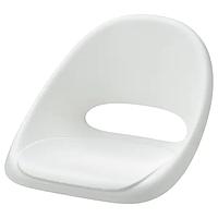Сиденье детского стула, ЛОБЕРГЕТ белый ИКЕА, IKEA
