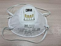 Респиратор 3М 8122 противоаэрозольный формованный FFP2 (зм), фото 1