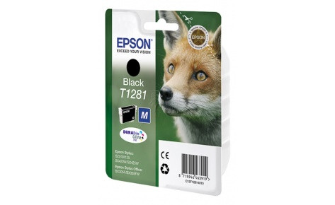 Картридж Epson C13T12814012  I/C black for S22/SX125 черный new