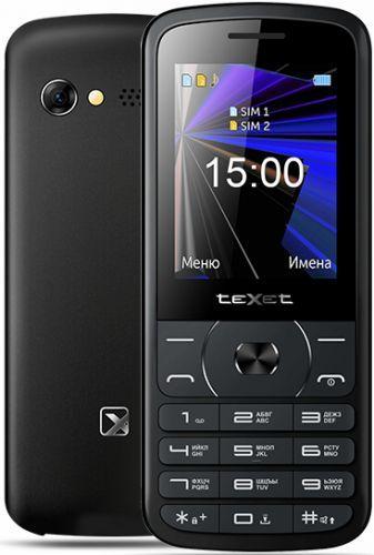 Мобильный телефон Texet TM-D229 черный