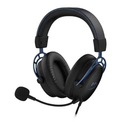 Наушники-гарнитура игровые HyperX HX-HSCAS-BL/WW Cloud Alpha S