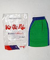 Мочалка варежка скраб Китай, фото 1