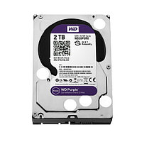 Жёсткий диск для видеонаблюдения Western Digital Purple HDD 2Tb WD20PURX