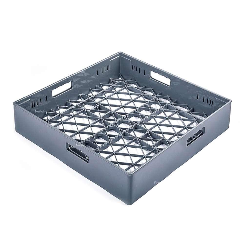 Посудомоечная кассета Abat для стаканов и чашек 500х500 мм