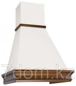 Вытяжка классика Elikor Вилла Валенсия 90П-650 топ.молоко/бук крем патина+золото