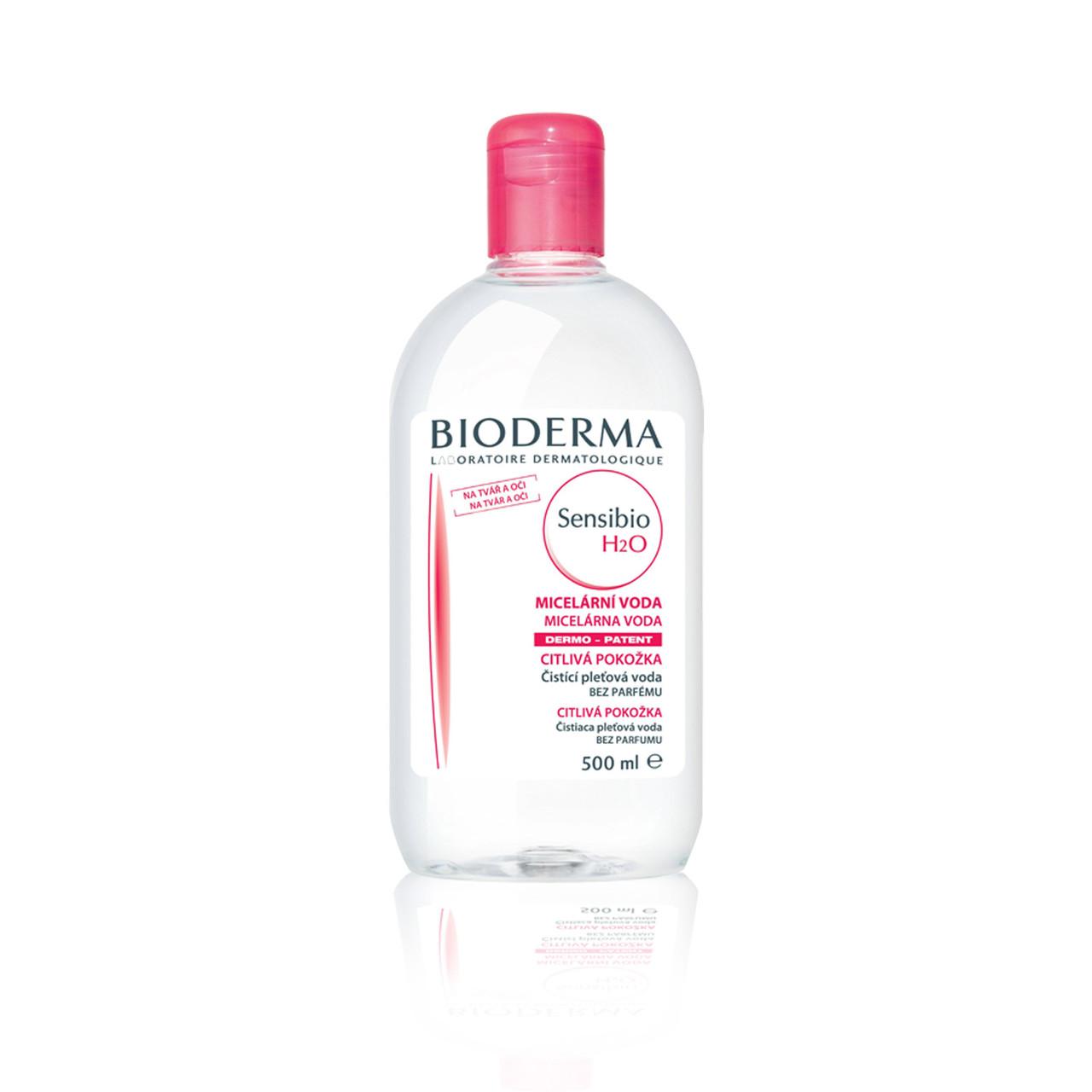 Биодерма Сенсибио  H2O мицелловый раствор для чувствительной кожи