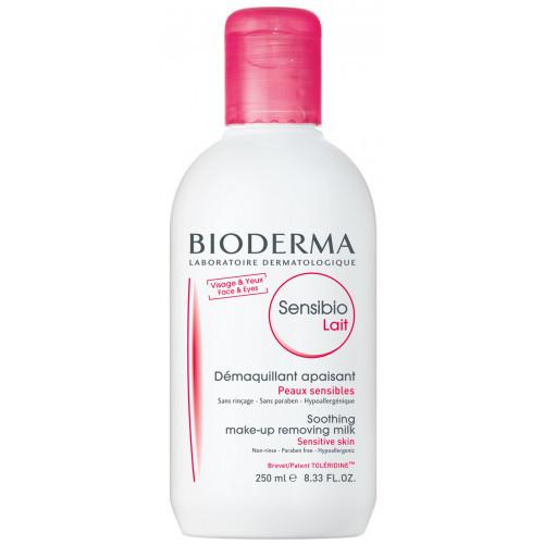 Биодерма Сенсибио Лайт Demaguillant 250 мл очищающее молочко для чувствительной кожи