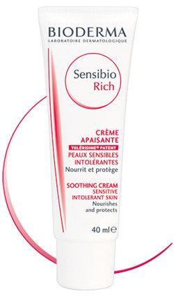 Биодерма Сенсибио насыщенный успокаивающий крем для чувствительной кожи