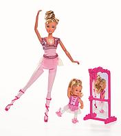 Кукла Штеффи и кукла Еви 12 см - Школа балета