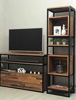 Гостинная мебель в стиле лофт