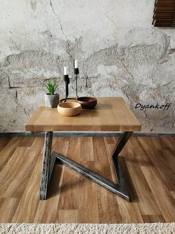 Гостинная мебель в стиле лофт - фото 3