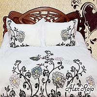 """AlexRojo Комплект постельного белья """"Valencia"""" семейный (с вышивкой) AlexRojo"""