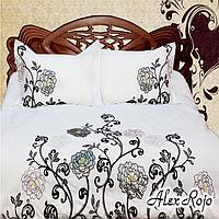 """AlexRojo Комплект постельного белья """"Valencia"""" 2х-спальный (с вышивкой) AlexRojo"""