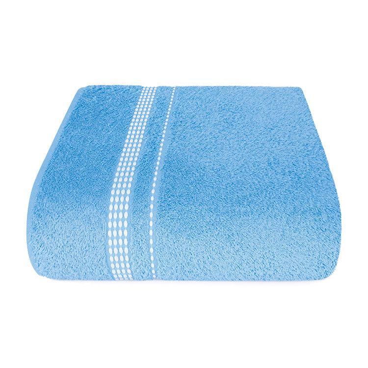 """Aquarelle Полотенце махровое  """"Лето""""  голубое  50х90 см."""
