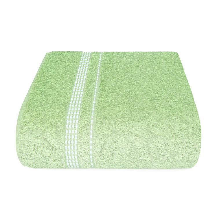 "Aquarelle Полотенце махровое  ""Лето""  светло зеленое  50х90 см."
