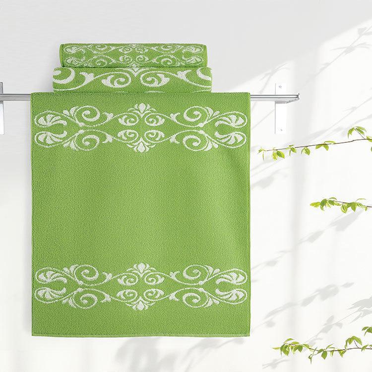 """Aquarelle Полотенце махровое  """"Шарлиз""""  35х70 см. цвет травяной"""