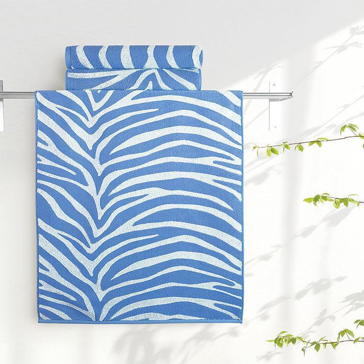 """Aquarelle Полотенце махровое  """"Мадагаскар""""  50х90 см. цвет  синий"""
