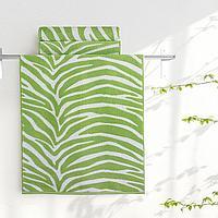 "Aquarelle Полотенце махровое  ""Мадагаскар""  35х70 см. цвет травяной"