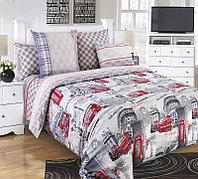 """Королевское искушение Комплект постельного белья """"Лондон""""  1.5 спальный , перкаль ТексДизайн(Россия)"""