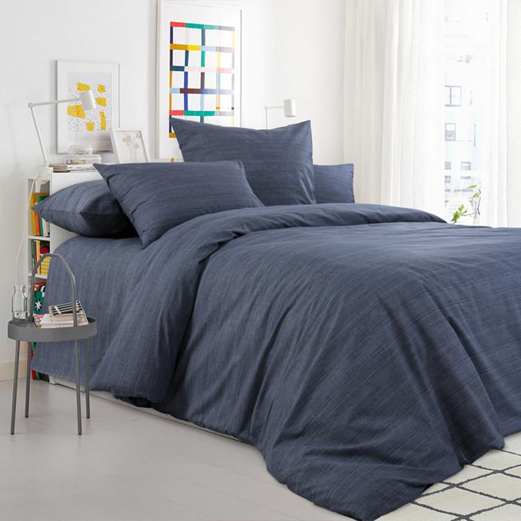 """Королевское искушение Комплект постельного белья """"Графитовый камень""""  1.5 спальный , перкаль"""