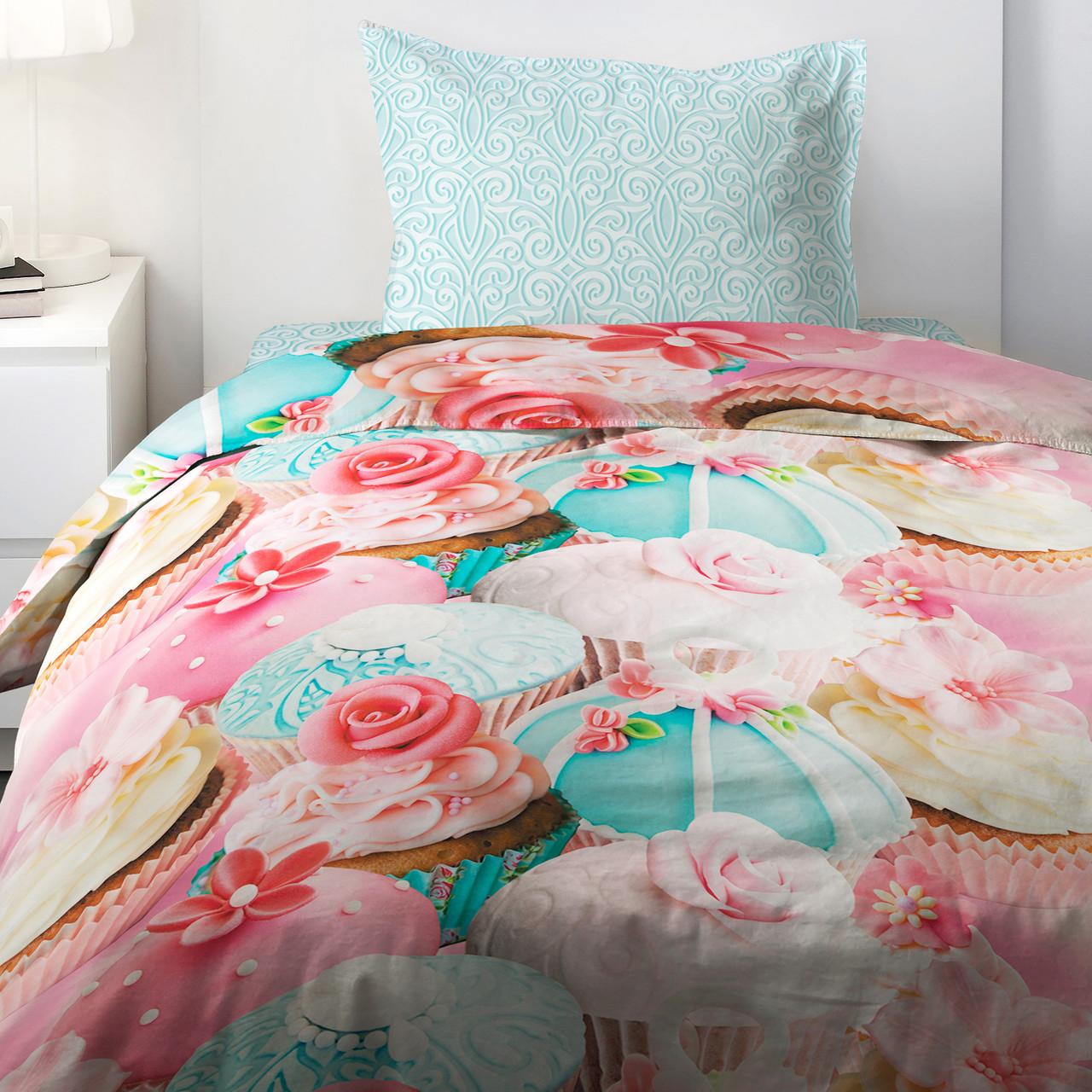 HOMY Комплект постельного белья   Капкейк,  HOMY  1.5 спальный