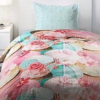 HOMY Комплект постельного белья   Капкейк,  HOMY  1.5 спальный, фото 1