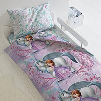 HOMY Комплект постельного белья   София и Единорог,  HOMY  1.5 спальный