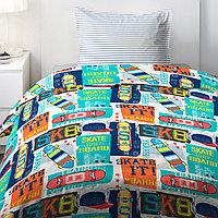 HOMY Комплект постельного белья   Скейт,  HOMY  1.5 спальный
