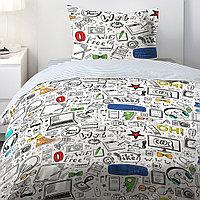 HOMY Комплект постельного белья  Скетч,  HOMY  1.5 спальный, фото 1