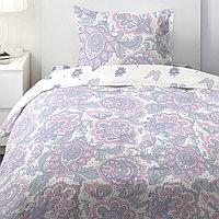 HOMY Комплект постельного белья  Лиловый пейсли,  HOMY  1.5 спальный