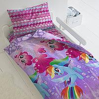HOMY Комплект постельного белья Подводные пони,  HOMY  1.5 спальный