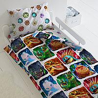 HOMY Комплект постельного белья  Драконы,  HOMY  1.5 спальный