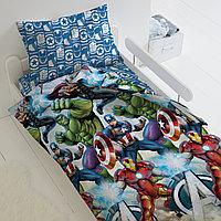 HOMY Комплект постельного белья   Мстители,  HOMY  1.5 спальный, фото 1