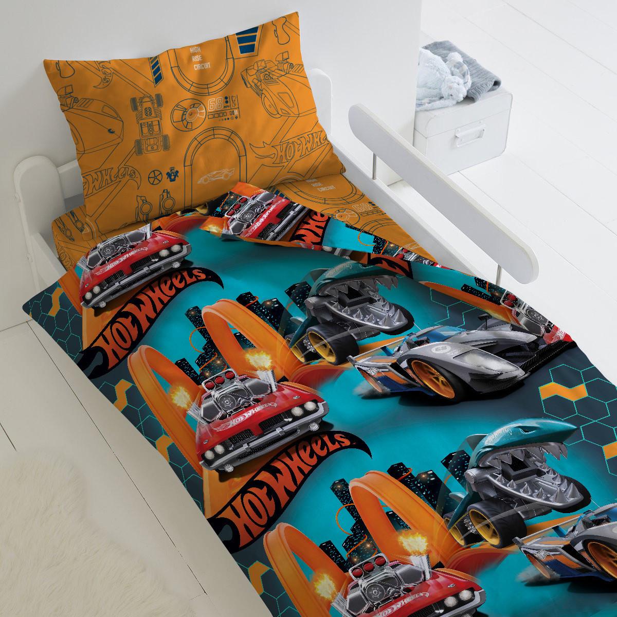 HOMY Комплект постельного белья Опасные гонки,  HOMY  1.5 спальный