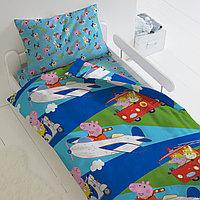 HOMY Комплект постельного белья Профессии, Peppa Pig  HOMY  1.5 спальный