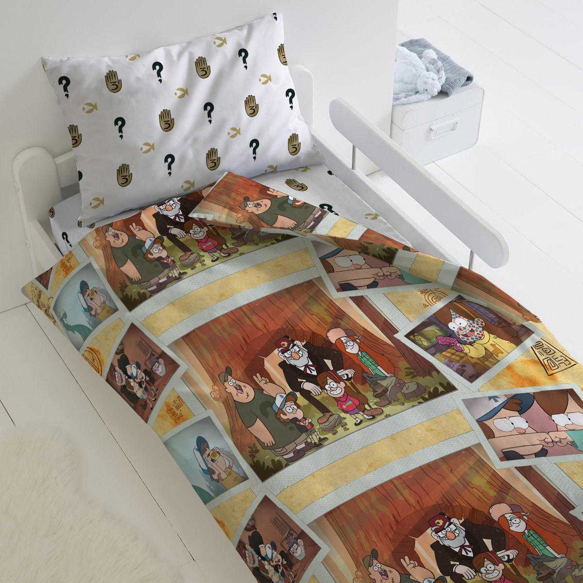 HOMY Комплект постельного белья Воспоминания, Гравити Фолз  HOMY  1.5 спальный