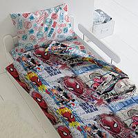 HOMY Комплект постельного белья  Арт, Человек паук  HOMY  1.5 спальный, фото 1