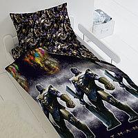 HOMY Комплект постельного белья Танос, Мстители  HOMY  1.5 спальный, фото 1