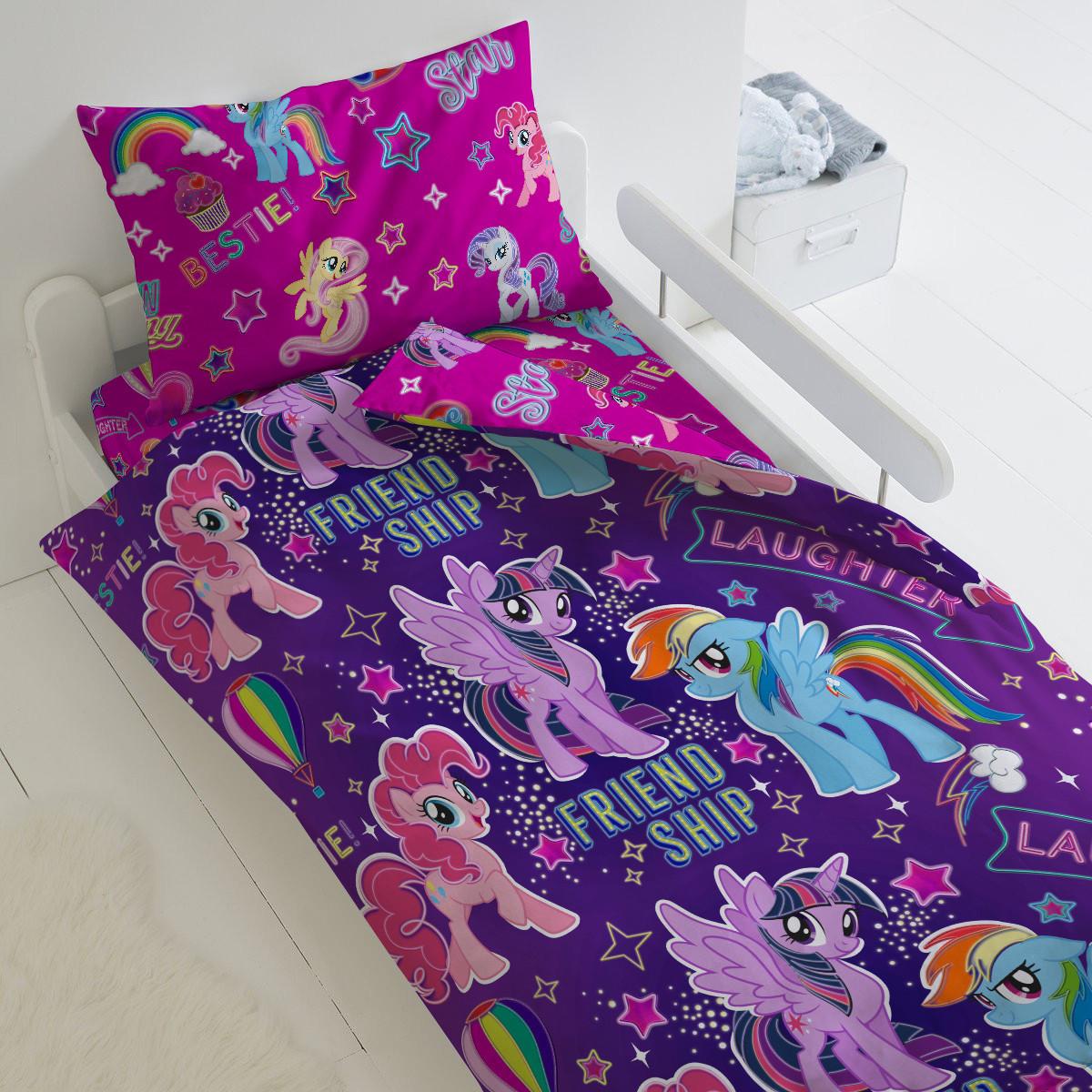 HOMY Комплект постельного белья Дружба НЕОН , HOMY  1.5 спальный