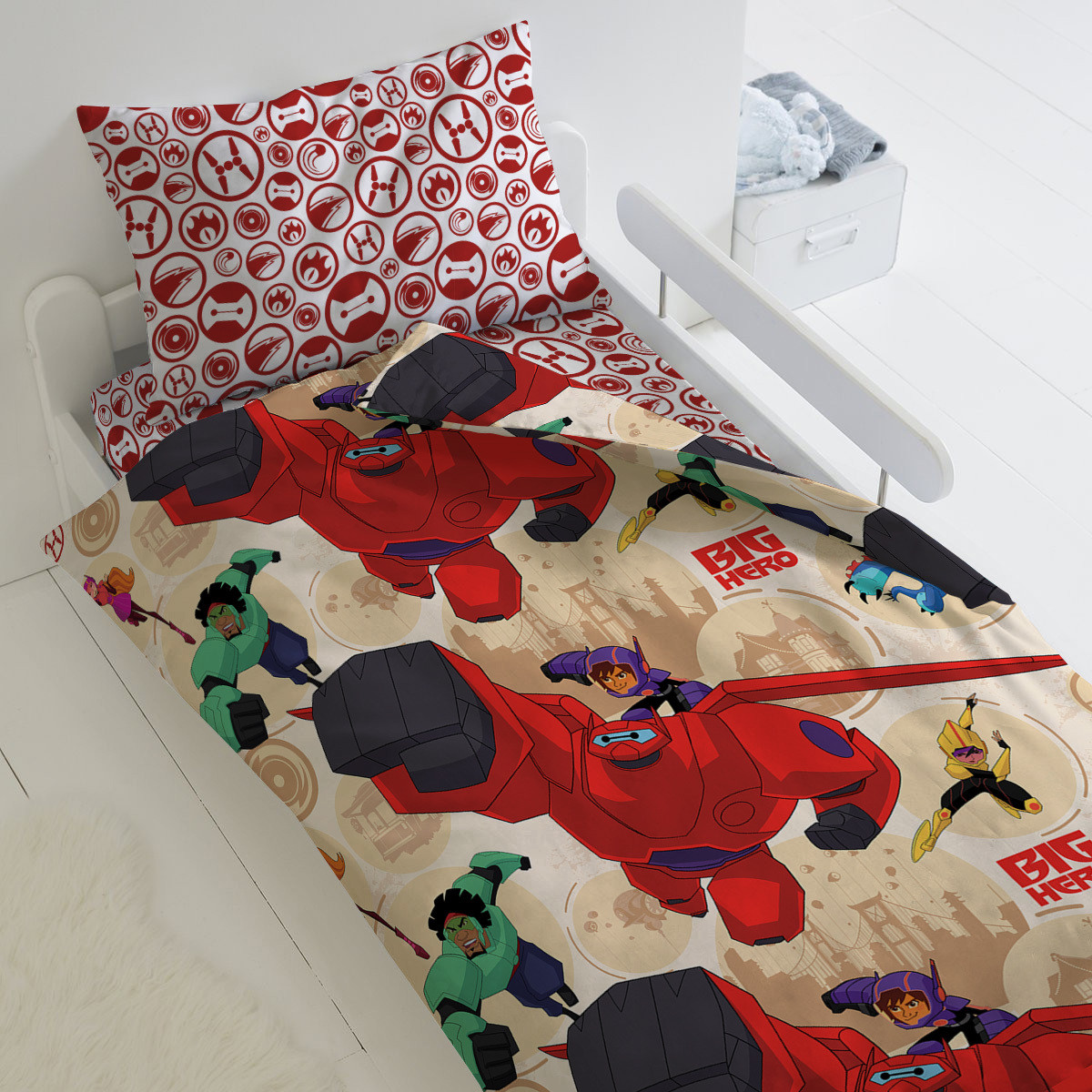 HOMY Комплект постельного белья Город героев , HOMY  1.5 спальный