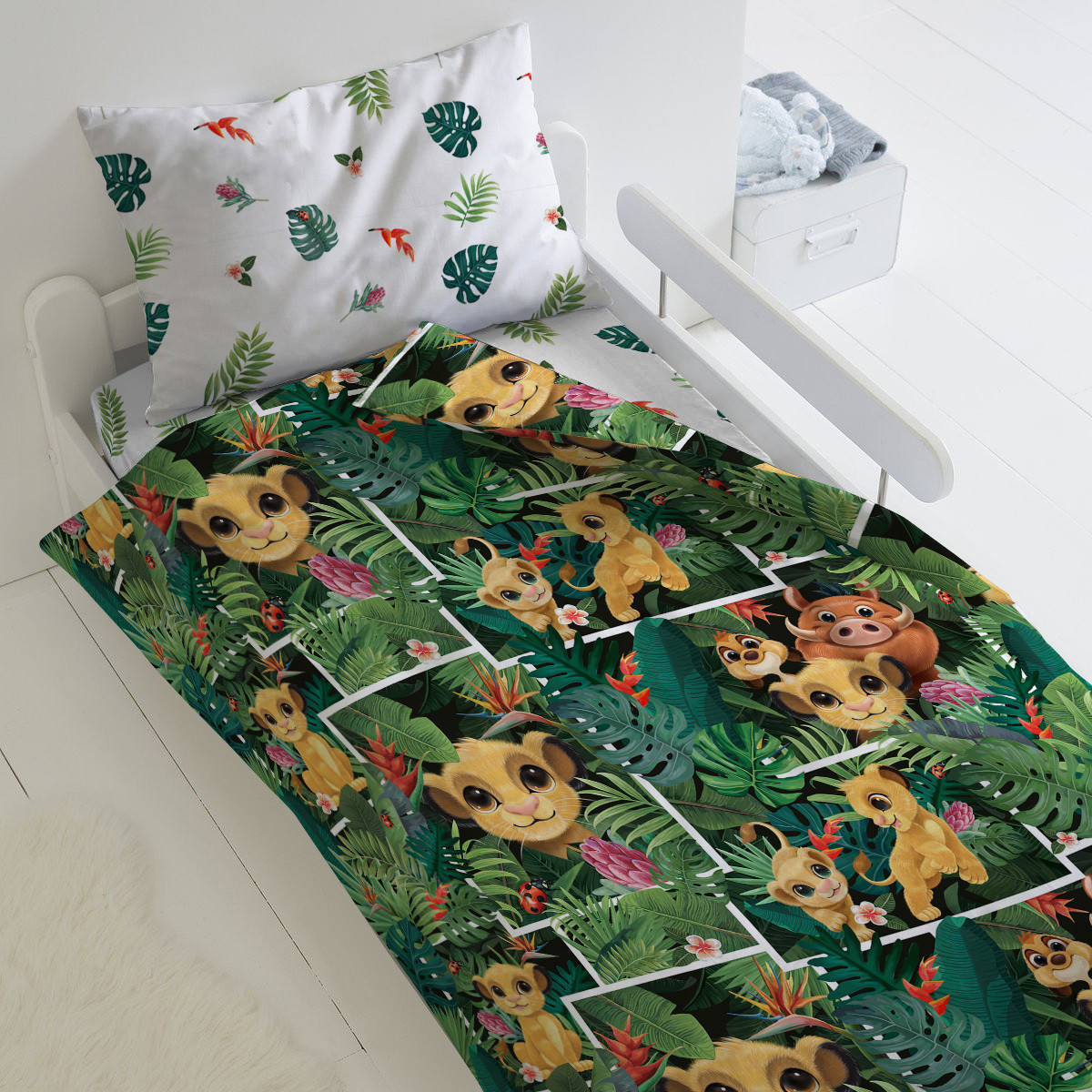HOMY Комплект постельного белья В джунглях,  HOMY  1.5 спальный