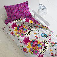 HOMY Комплект постельного белья Принцесса Розочка, Trolls  HOMY  1.5 спальный