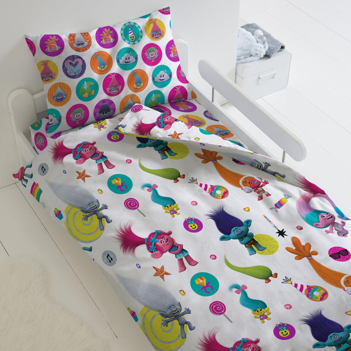 HOMY Комплект постельного белья Танцы, Trolls  HOMY  1.5 спальный