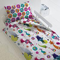 HOMY Комплект постельного белья Танцы, Trolls  HOMY  1.5 спальный, фото 1