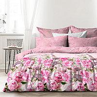 Любимый дом Комплект постельного белья Парижский роман, 1.5 спальный