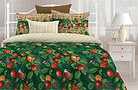 Любимый дом Комплект постельного белья   Яблочки, 2 спальный евро